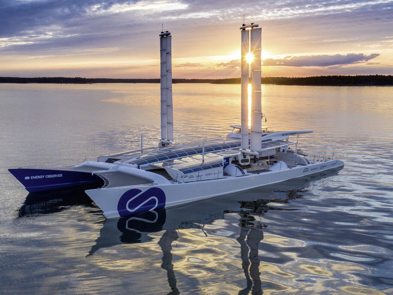 Energy Observer, ein Boot mit Wasserstoffantrieb