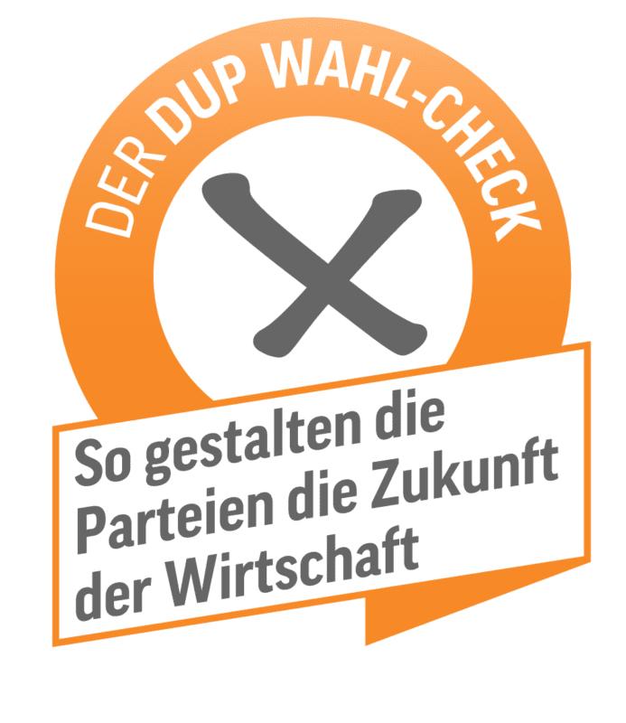 Illustration zum DUP-Wahlcheck