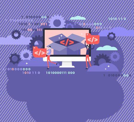 Illustration zu Open Source und Programmierung