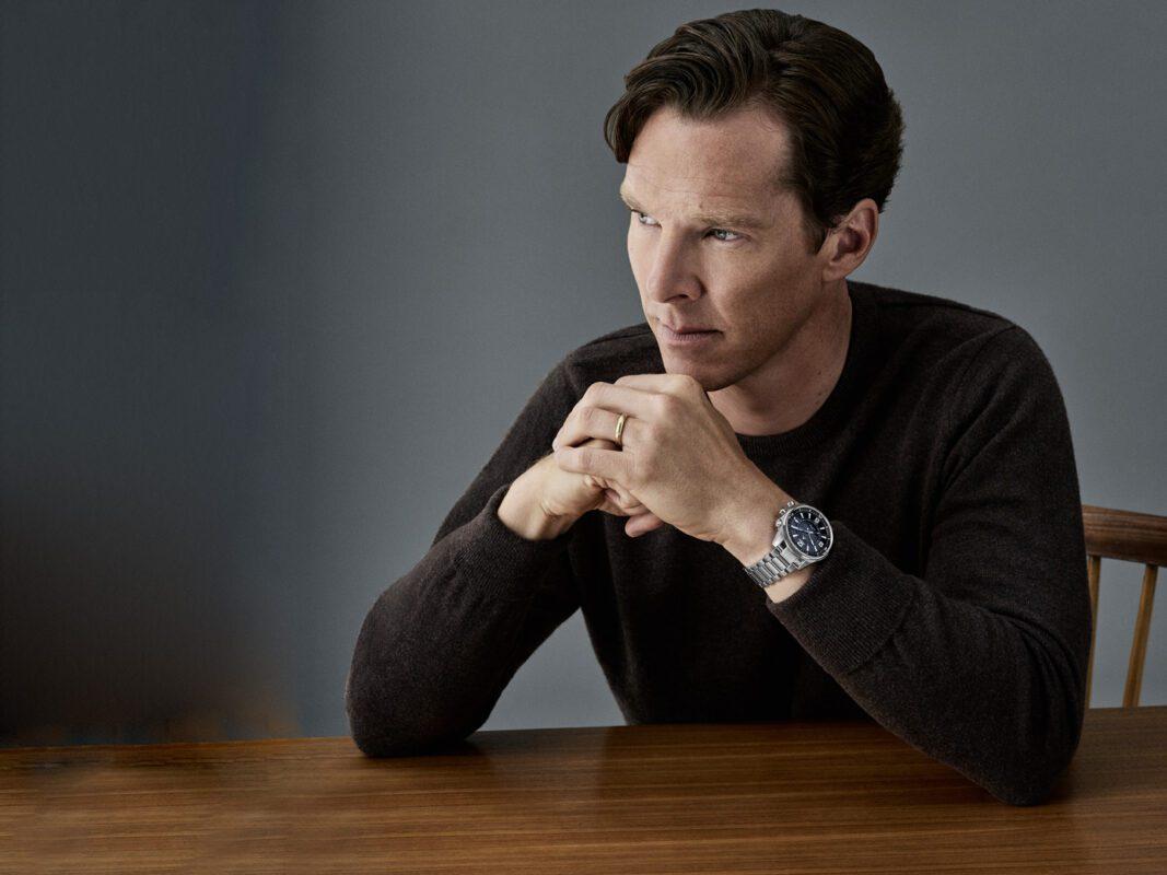 "Benedict Cumberbatch trägt die ""Polaris Mariner Memovox"" von Jaeger-LeCoultre"