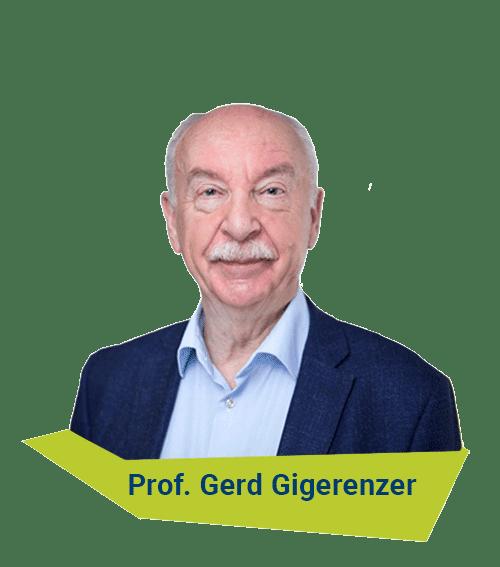 Bild Prof. Gerd Gigerenzer