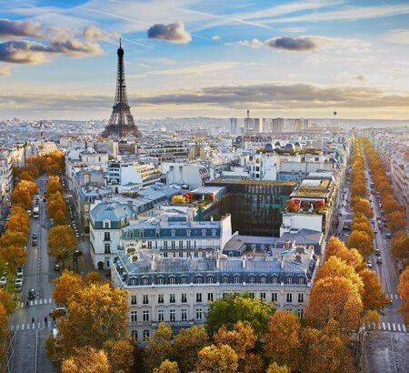 Aufnahme von Paris
