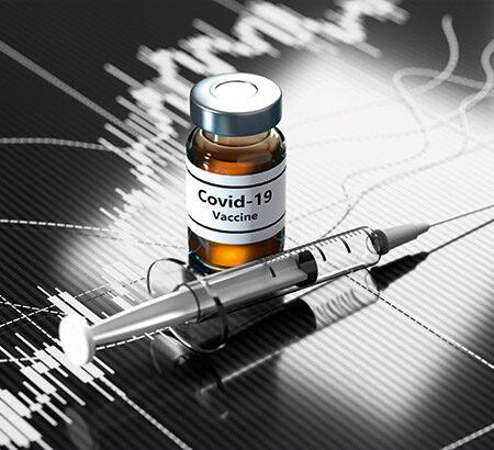 Illustration eines Impfstoffs gegen Corona